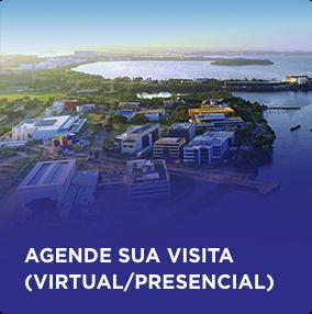 Agende sua visita (virtual ou presencial).