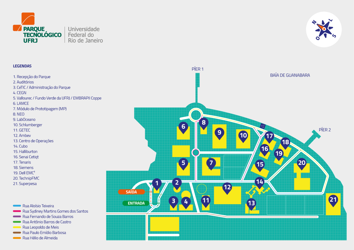 Mapa FUNDAO
